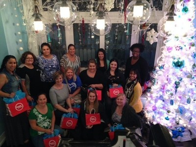 WWP Family Support Members learned to make lollipops at Sweet Pete's in downtown Jacksonville