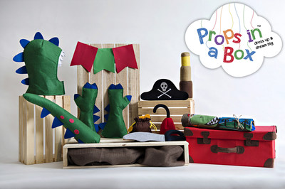 Props in a Box & Props in a Bag, available now at Toy R Us locations nationwide, lets kids dress up and dream big!