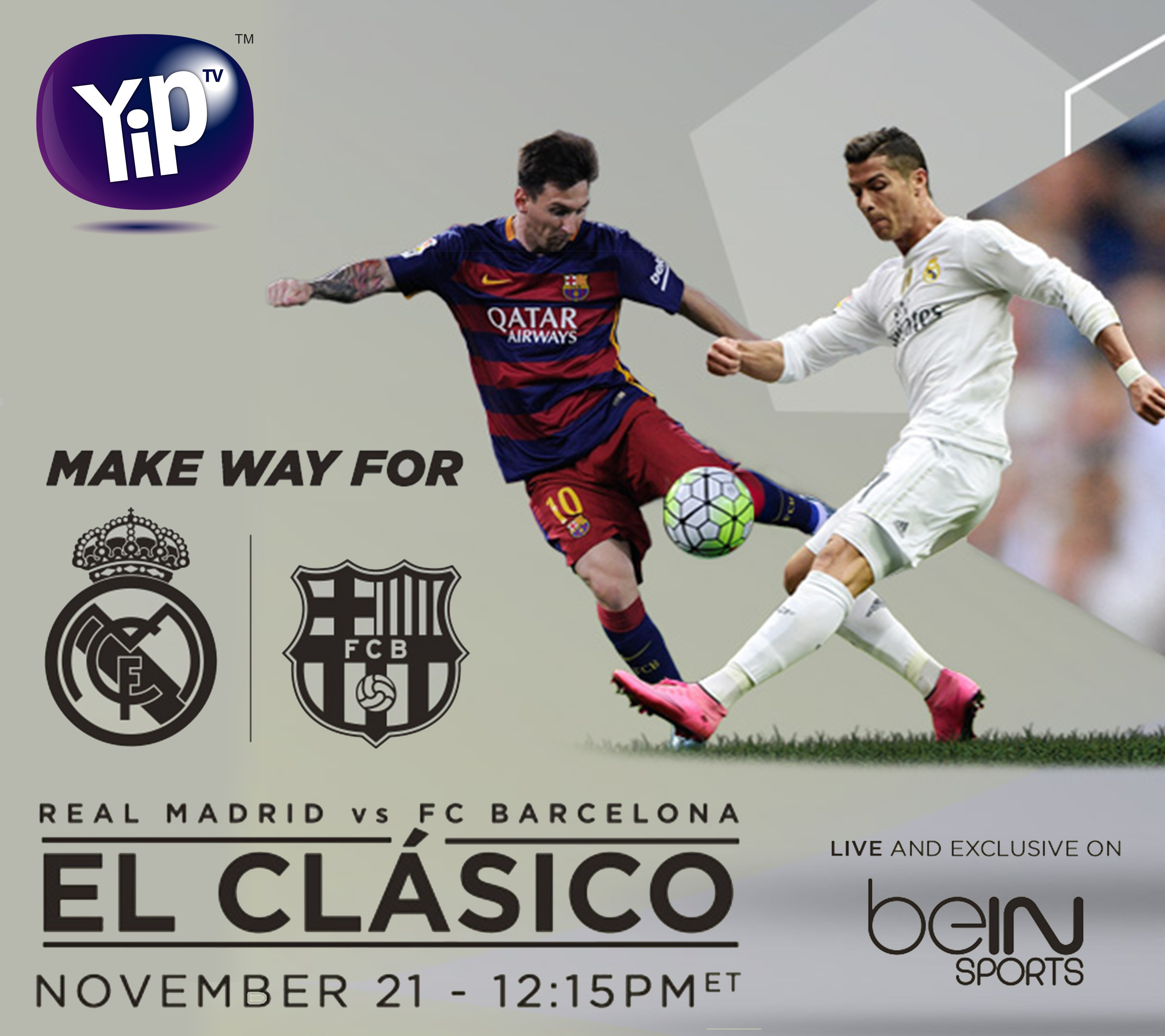 YipTV will kick and punch into this weekend with El Clasico and boxing @GoldenBoyBoxing