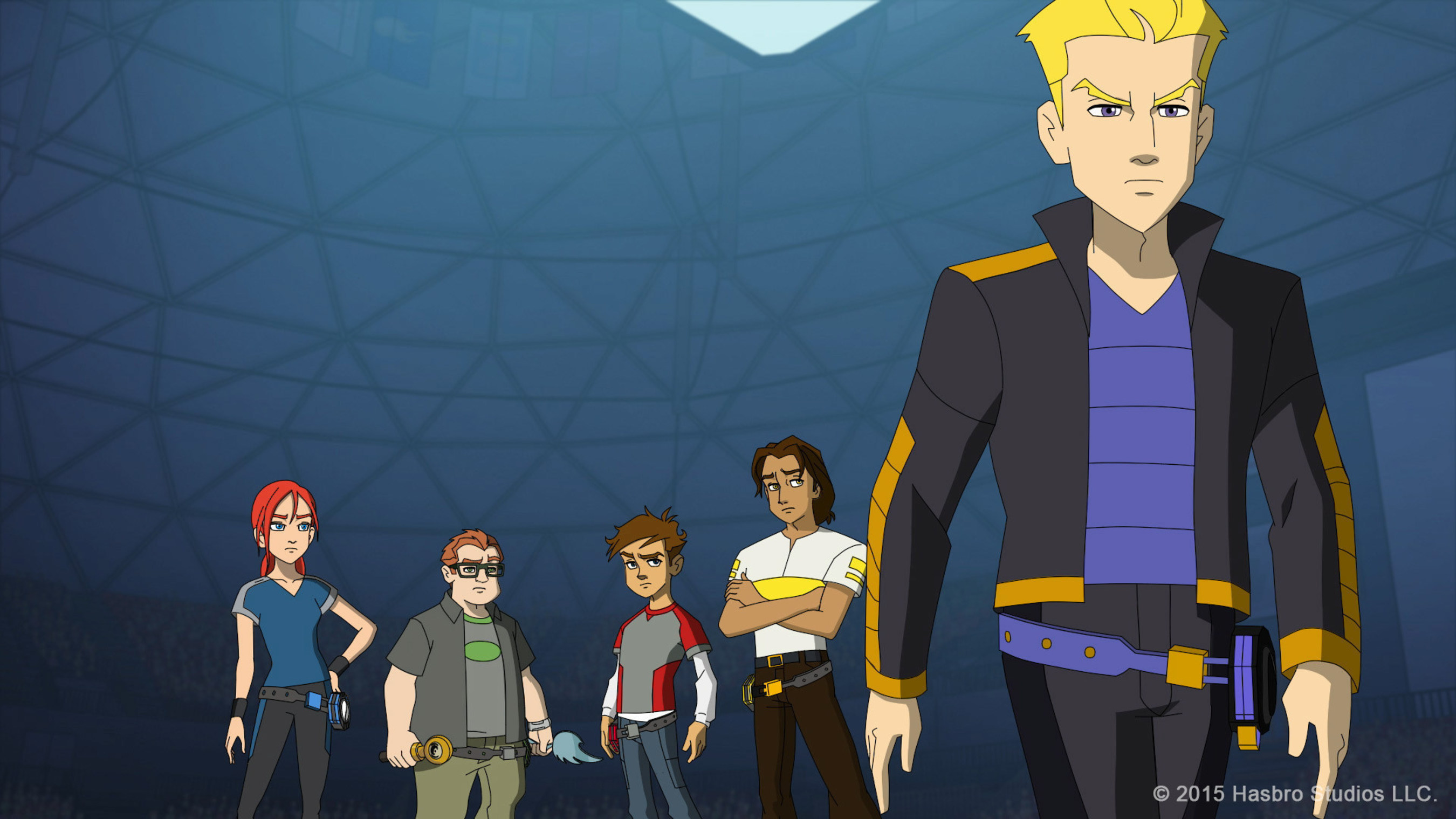 Discovery Family Channel's Newest Daytime Series From Hasbro Studios, BLAZING TEAM, Combats Darkness Through Teamwork, Skill And An Ancient Martial Art Called 'Yo Kwon