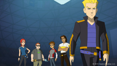 "Discovery Family brings BLAZING TEAM, the #1 boys brand from China, to American audiences this November. The series--delving into the mystical world of an ancient martial art known as ""Yo Kwon Do""--kicks off with a two-part premiere on Fri, Nov 13 at 6:30 and 7 AM ET. Subsequent episodes air Fridays at 7 AM ET, only on Discovery Family Channel."