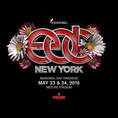 4th Annual Electric Daisy Carnival, New York Takes Over MetLife Stadium This Memorial Day Weekend, May 23-24, 2015