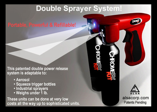 Alsa Coatings Releases New Double Spray System - Bottles, Aerosols & Industrial Spray Systems