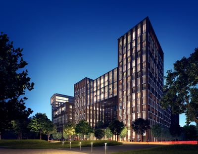 Ballymore to establish Joint Venture for major £2bn London residential development portfolio: Embassy Gardens (pictured) is one of three large-scale, waterside residential developments in London included in the portfolio. (PRNewsFoto/Ballymore Group)