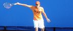 Grégoire Barrère : young tennis player of 18 years, ranked Number 1026 at the ATP, great hope of french tennis. Gregoire Barrere – jeune tennisman de 18 ans, classe 1026e par l'ATP, grand espoir francais