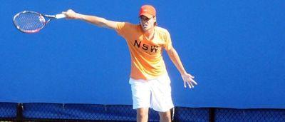 Grégoire Barrère : young tennis player of 18 years, ranked Number 1026 at the ATP, great hope of french tennis. Gregoire Barrere – jeune tennisman de 18 ans, classe 1026e par l'ATP, grand espoir francais (PRNewsFoto/momondo)