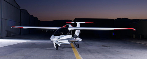 The ICON A5 amphibious Light Sport Aircraft.  Cirrus Aircraft will produce a significant portion of the composite airframe components for ICON Aircraft.  (PRNewsFoto/Cirrus Aircraft)