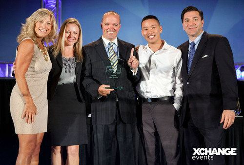 Congratulations XChange 2012 XCellence Award Winners!  (PRNewsFoto/UBM Channel)