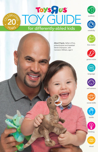 "ALBERT PUJOLS ""PINCH HITS"" TO SUPPORT THE 2014 TOYS ""R"" US TOY GUIDE FOR DIFFERENTLY-ABLED-KIDS. (PRNewsFoto/Toys""R""Us, Inc.)"