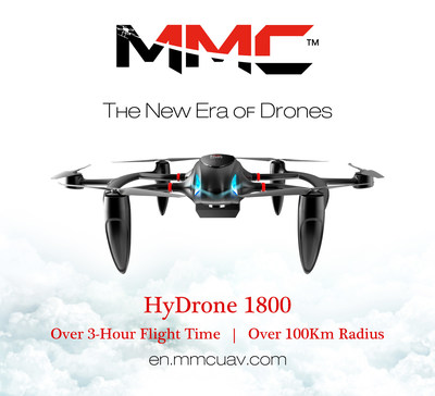 MMC Set to Launch HyDrone 1800, the UAV with a Flight Time of Over 3 Hours
