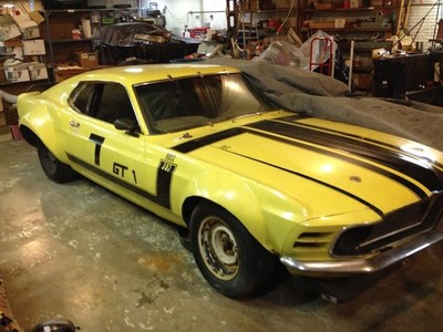 Vintage Car Garage Find Auction
