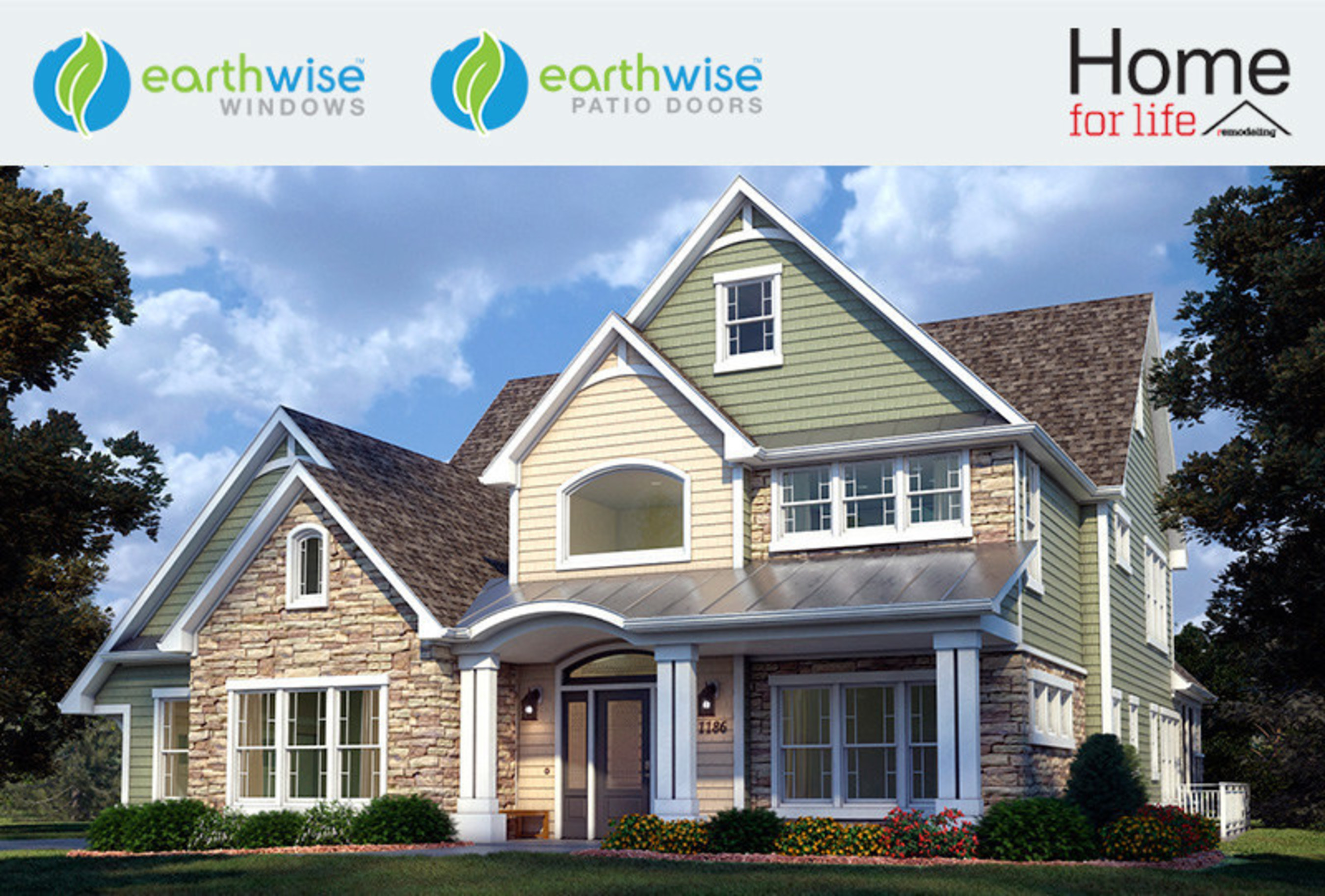 """Earthwise Windows & Doors is sponsoring Home for Life, a photo-realistic tour demonstrating how to renovate a home for """"aging in place."""" This concept is also known as Universal Design."""