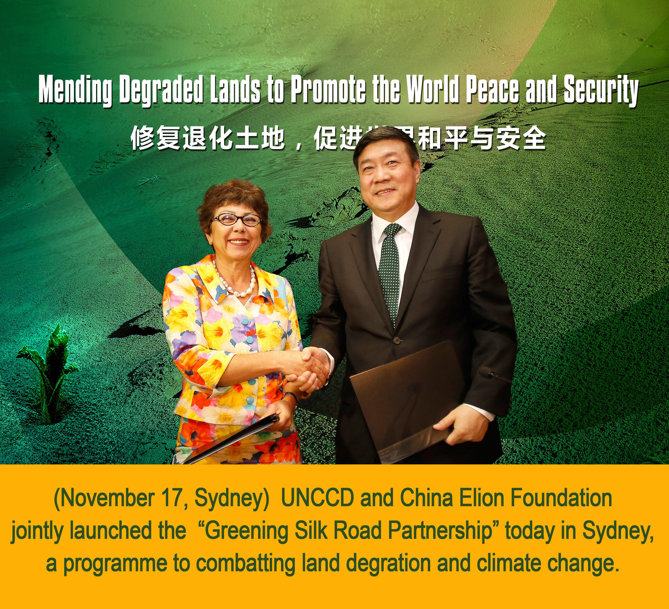 Un « Partenariat d'écologisation de la route de la soie » pour s'attaquer à la dégradation des sols