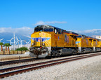Union Pacific Railroad trains have delivered approximately 40,000 wind energy components since 2006, according to the company's 2015 Building America Report. The report details more information about Union Pacific's social, environmental and economic sustainability progress.