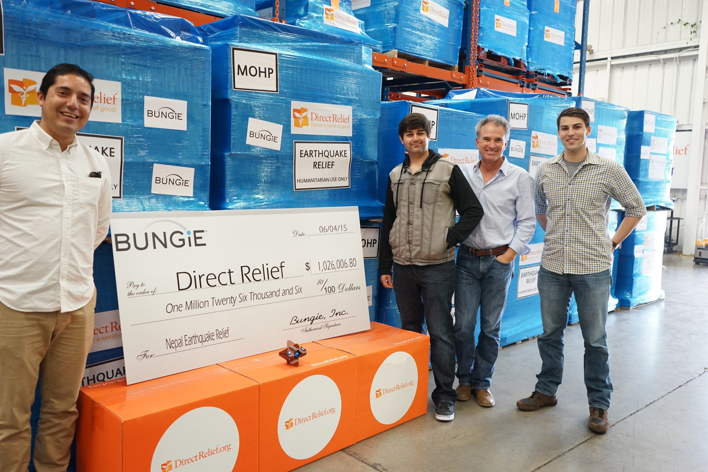 Bungie Rallies 50,000 Gamers, Raises $1,026,006.80 for Nepal Earthquake Relief