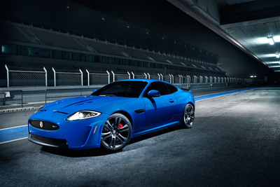 MAHWAH, N.J., February 22, 2011 - Jaguar will launch the new Jaguar XKR-S at the Geneva Motor Show on March 1, 2011.  (PRNewsFoto/Jaguar)