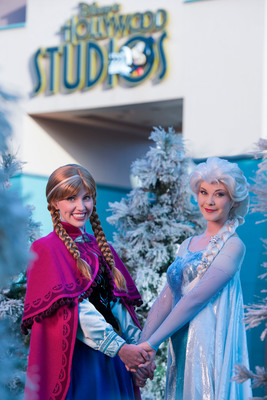 "Royal sisters Princess Anna and Queen Elsa, from Disney's hit animated motion picture ""Frozen,"" will be featured all summer at Disney's Hollywood Studios theme park.  From July 5-Sept. 1, 2014, ""Frozen Summer Fun Live!"" celebrates the worldwide phenomenon of ""Frozen"" with a daily character procession, special sing-alongs with Anna and Elsa, themed fireworks, a polar playground, ice skating rink, ice carving demonstrations and a nightly party featuring a live band. Disney's Hollywood Studios is one of..."