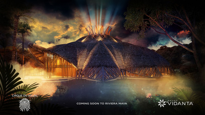 Coming soon to Riviera Maya: an unprecedented intimate dinner and spectacle from Cirque du Soleil and Grupo Vidanta. (PRNewsFoto/Grupo Vidanta)