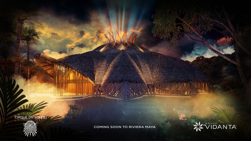 Coming soon to Riviera Maya: an unprecedented intimate dinner and spectacle from Cirque du Soleil and Grupo Vidanta. (PRNewsFoto/Grupo Vidanta) (PRNewsFoto/GRUPO VIDANTA)