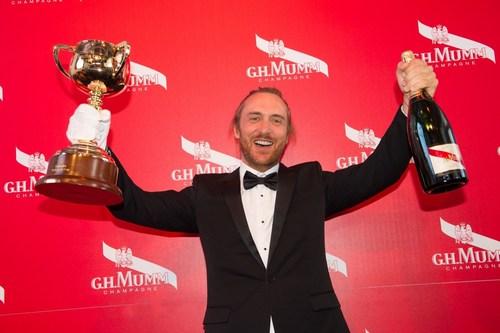 David Guetta with Mumm at the Melbourne Cup - credit SDP MEDIA (PRNewsFoto/Maison Mumm) (PRNewsFoto/Maison Mumm)