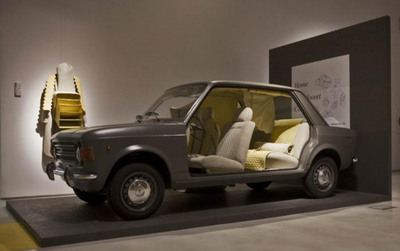 The Car as Home.  (PRNewsFoto/Alcantara)