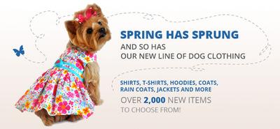 TheUncommonDog.com unveils a new line of dog clothing.  (PRNewsFoto/The Uncommon Dog)