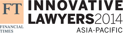 Financial Times Lists Winners of Inaugural Innovative Lawyers Awards in Asia-Pacific