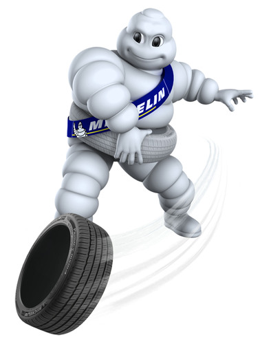 Michelin Man Joins Advertising Hall of Fame.  (PRNewsFoto/Michelin)