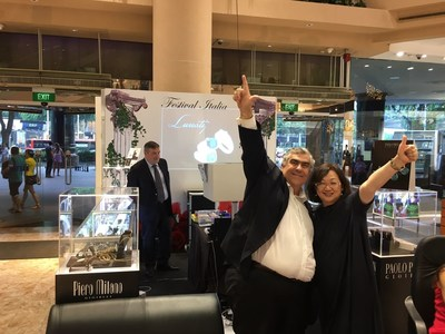 Singaporean-Italian Duo to Launch Oro D' Italia -- 100% Italian Hand-made Fine Jewellery Retail Platform During Singapore Jewellery and Gem Fair at Marina Bay Sands