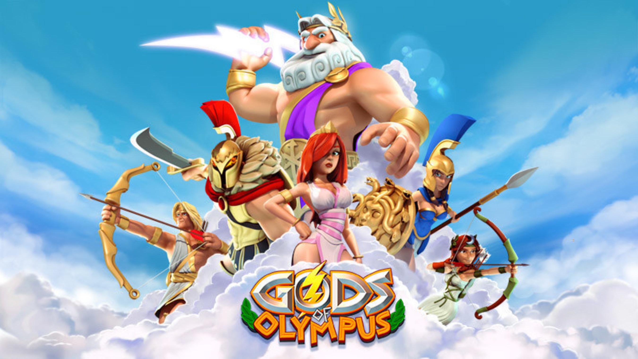 Gods of Olympus Thunders into iOS App Store