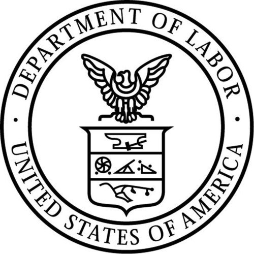 U.S. Department of Labor logo. (PRNewsFoto/U.S. Department of Labor) (PRNewsFoto/U.S. DEPARTMENT OF LABOR)