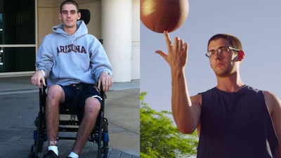 Watch Sam Schmid's amazing comeback at Barrow from a brain injury at youtube.com/BarrowNeurological. (PRNewsFoto/Barrow Neurological Institute)