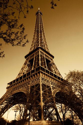 The Eiffel Tower in Paris, France.  (PRNewsFoto/XOJET)