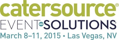 Catersource and Event Solutions Conference & Tradeshow will run March 8-11, 2015 at Caesars Palace and the Las Vegas Convention Center in Las Vegas, NV.