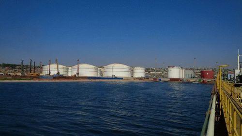 View of the Fishing Port Terminal in Luanda Bay (PRNewsFoto/Puma Energy)