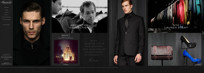 Kenneth Cole Collection Microsite