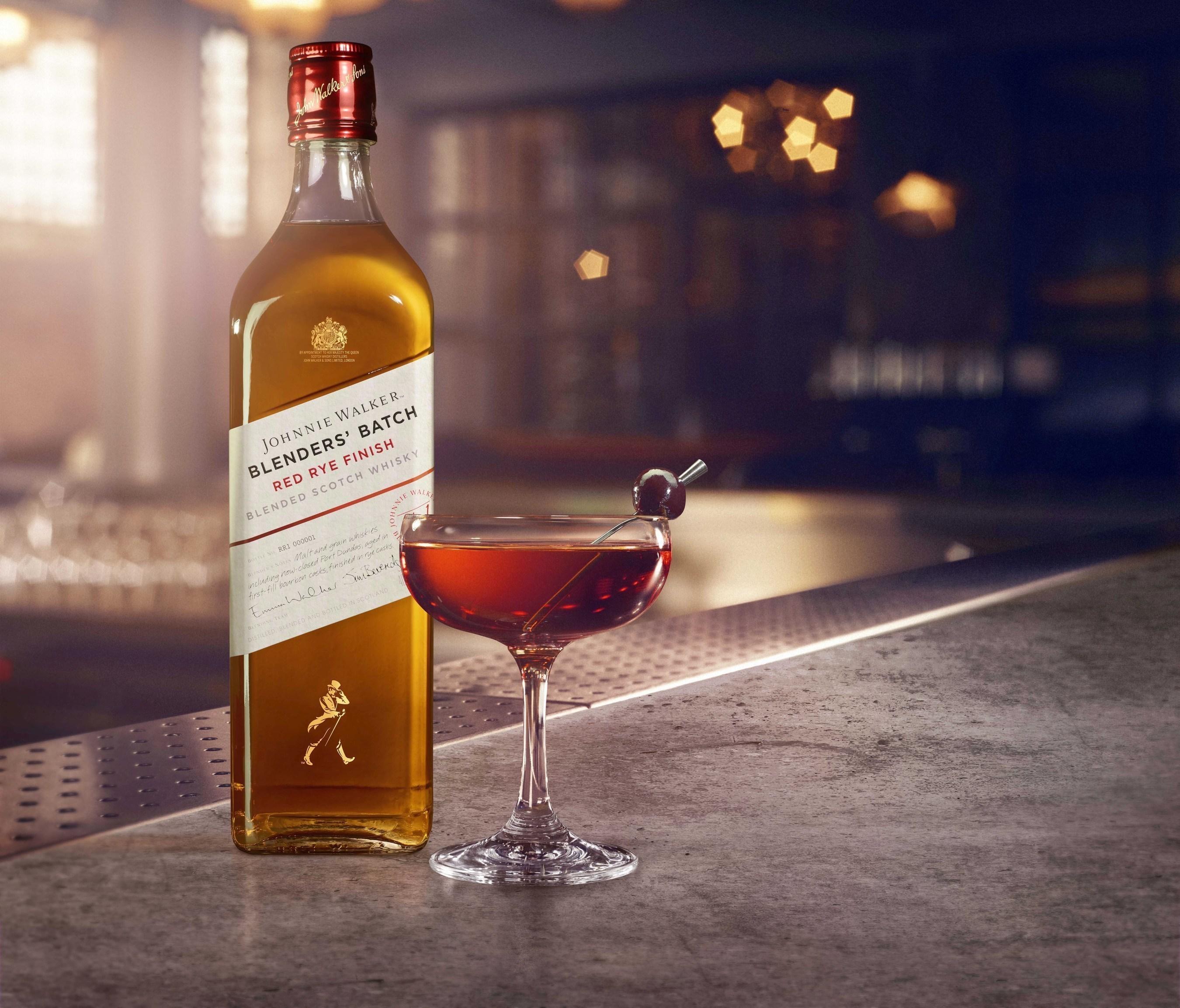 An Experimental Blended Scotch...in a Classic Manhattan?
