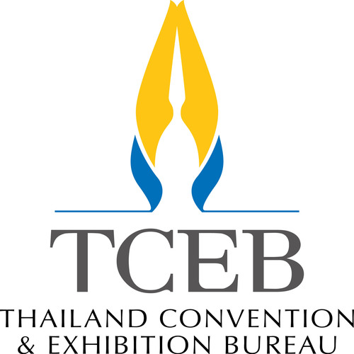 Thailand Convention & Exhibition Bureau New Logo.  (PRNewsFoto/Thailand Convention & Exhibition Bureau)