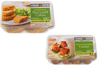 Veggie Patch Launches Two New Products: Roasted Red Pepper Falafel and Moroccan Red Lentil Cakes (PRNewsFoto/Veggie Patch)