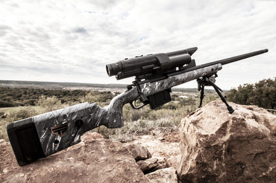 XS4 338 Lapua Magnum Smart Rifle.  (PRNewsFoto/TrackingPoint)