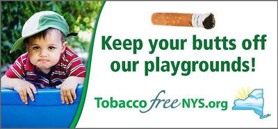 Tobacco Free NYS.  (PRNewsFoto/Community Partnerships for a Tobacco Free New York)