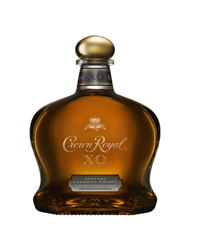Crown Royal XO is a unique blend of more than 50 of Crown Royal's finest whiskies, finished in cognac casks from the French Limousin Forest. The result is a complex expression of the brand's signature blend. (PRNewsFoto/Diageo) (PRNewsFoto/DIAGEO)