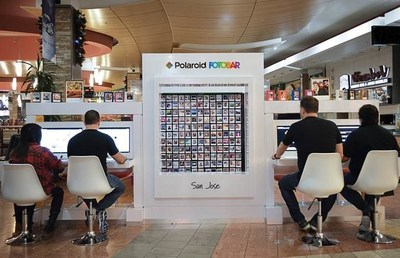 Second of seven California Polaroid Fotobar micro-retail locations opens at Westfield Oakridge.