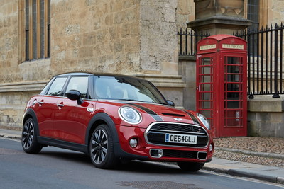 The new 5 door MINI: 45,000 sold worldwide in the first half of 2015. (PRNewsFoto/BMW Group)