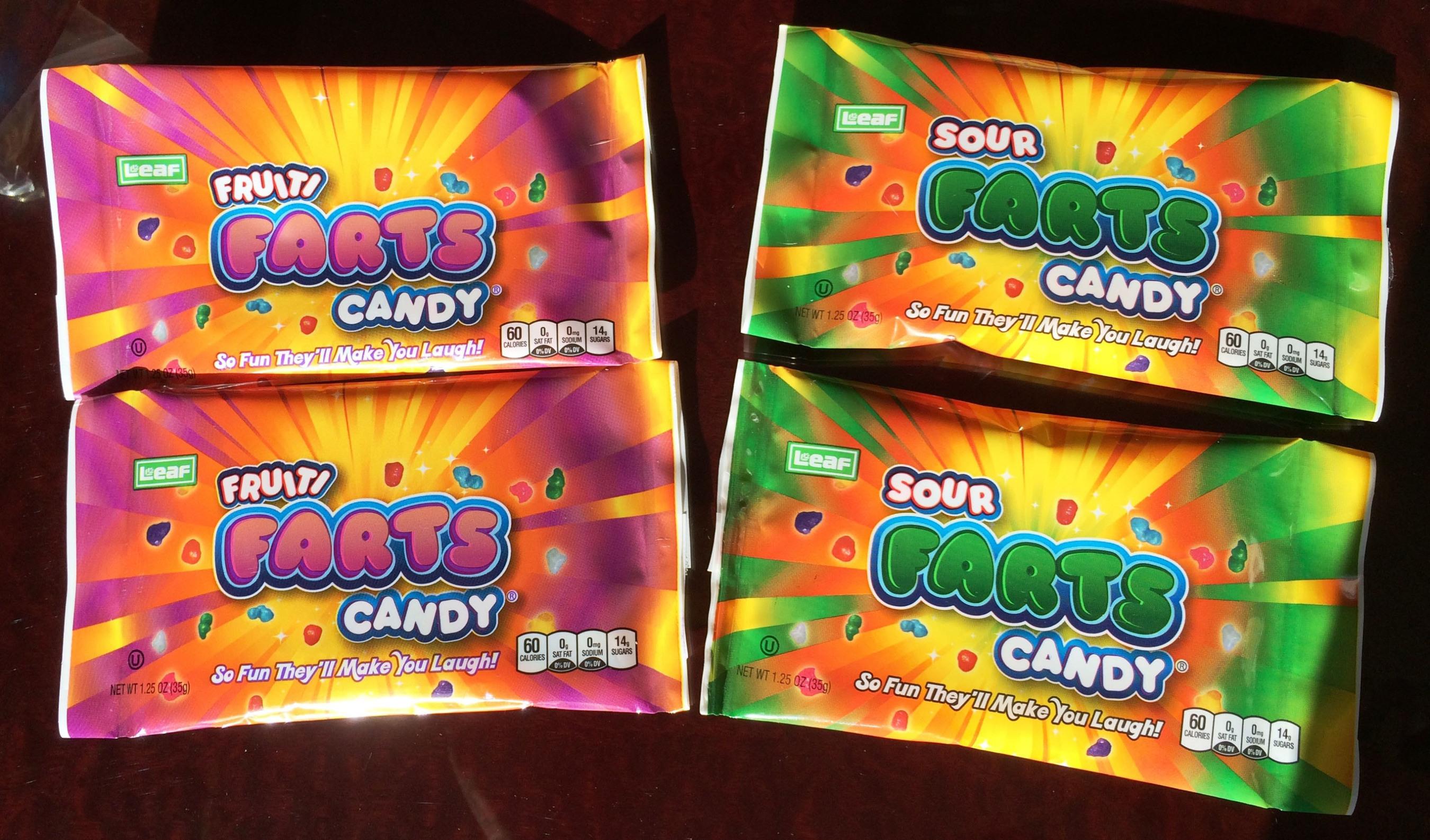 Sour and Fruiti Farts Candy (PRNewsFoto/LEAF Brands, LLC)