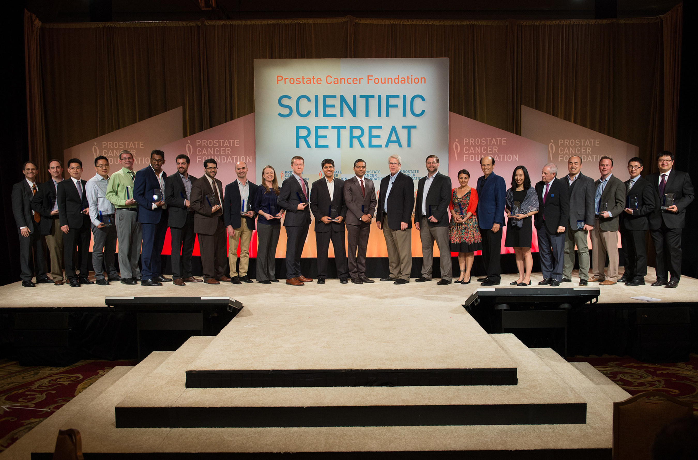 Prostate Cancer Foundation awards 19 new Young Investigators at PCF's 22nd Annual Scientific Retreat to accelerate prostate cancer research breakthroughs. For more information about their research initiatives, visit: http://bit.ly/1W6wyrG