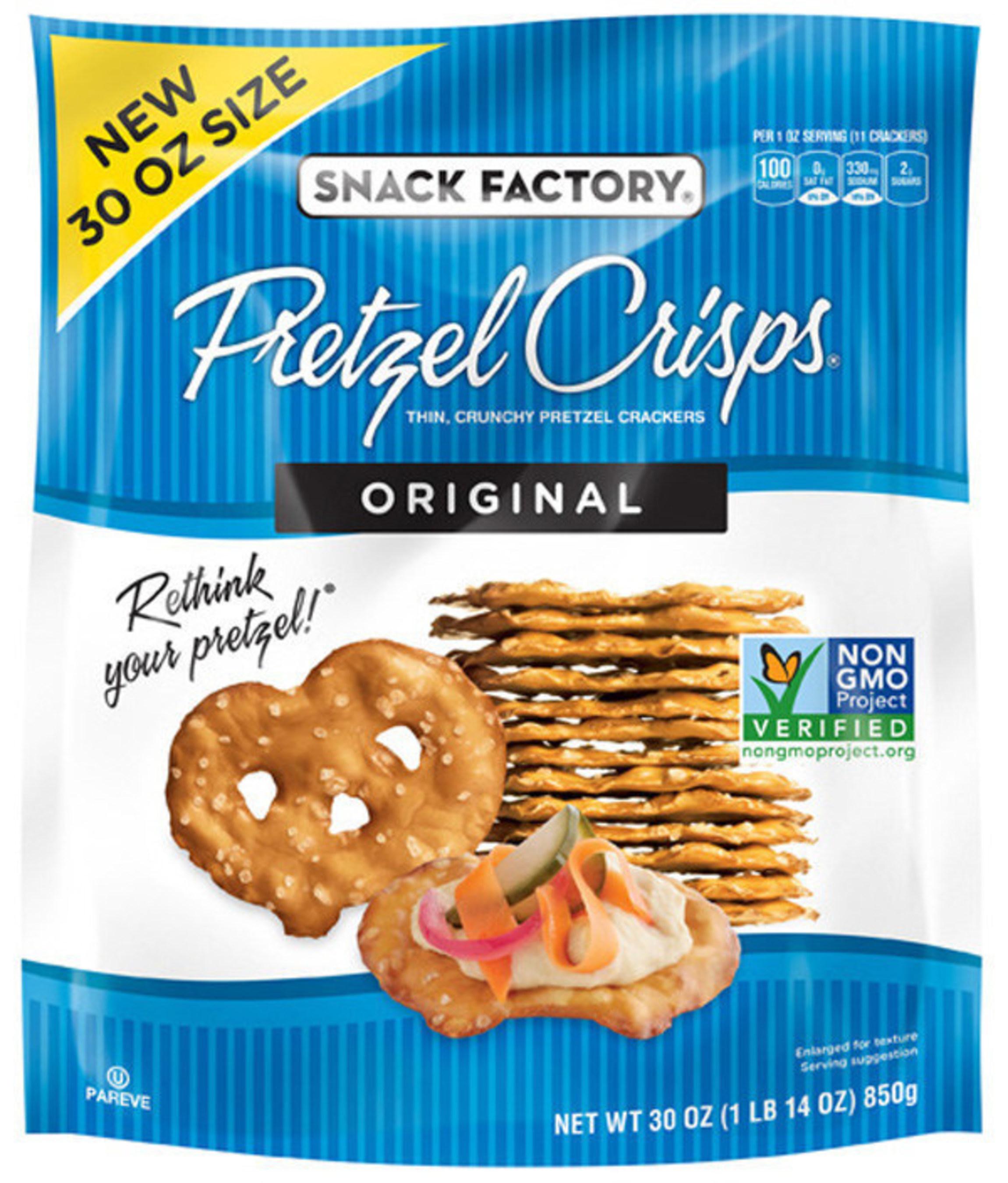 30 oz. Snack Factory(R) Original Pretzel Crisps(R)