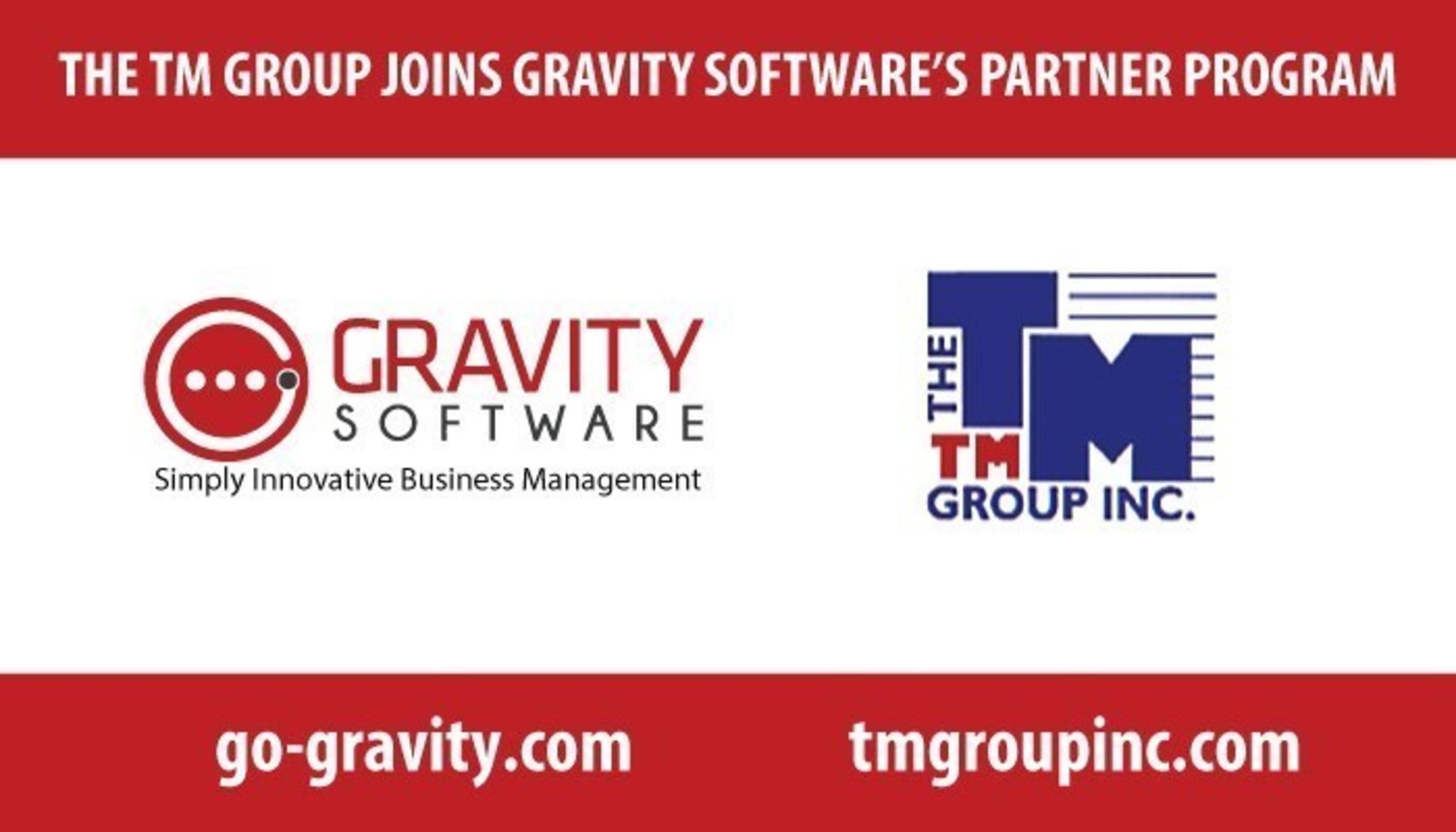 The TM Group Joins Gravity Software's Partner Program