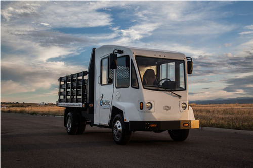 Boulder EV is currently in production on four different models including a box truck, delivery van, flatbed ...