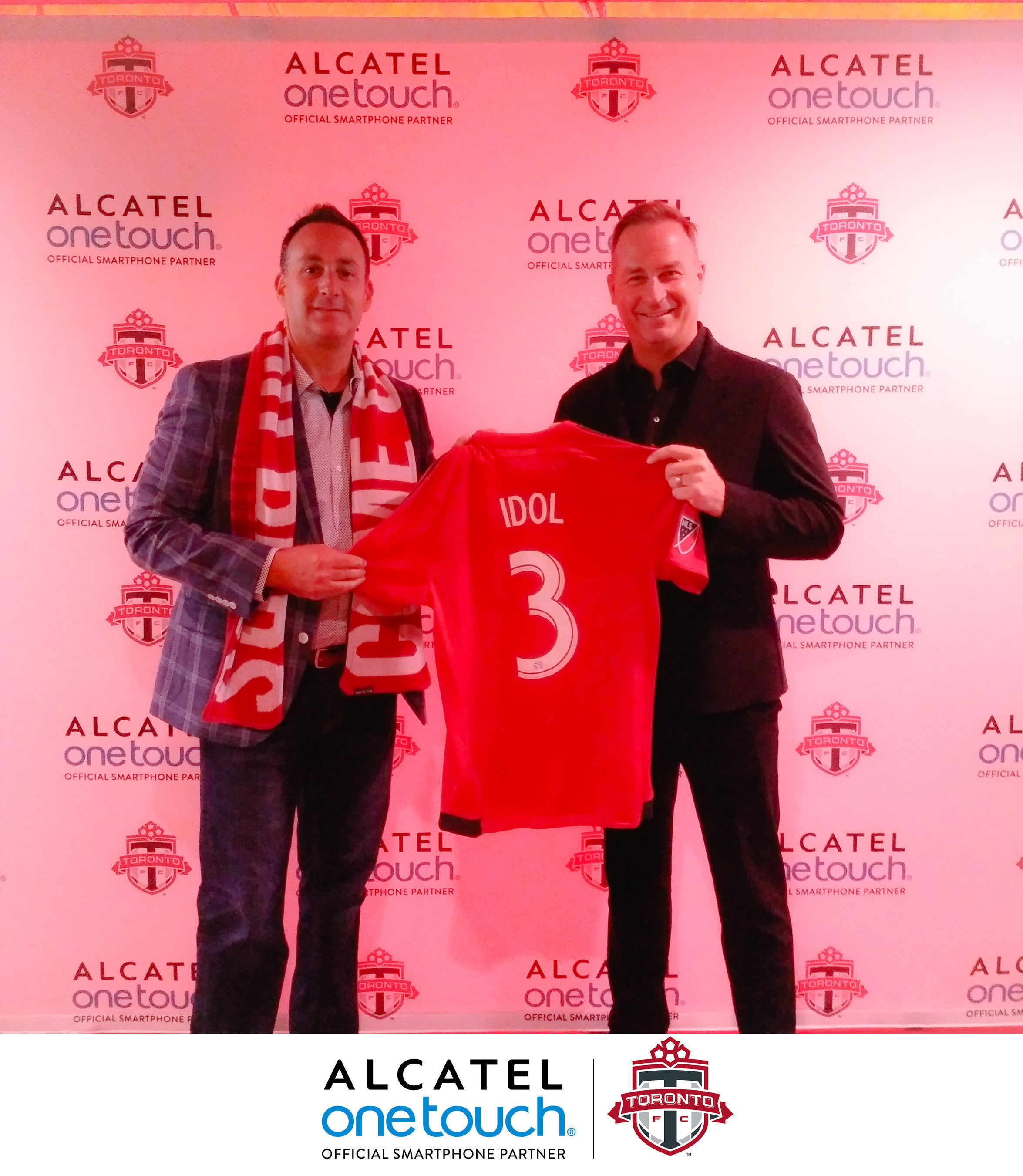 ALCATEL ONETOUCH Announced As The Official Smartphone Partner Of Toronto FC